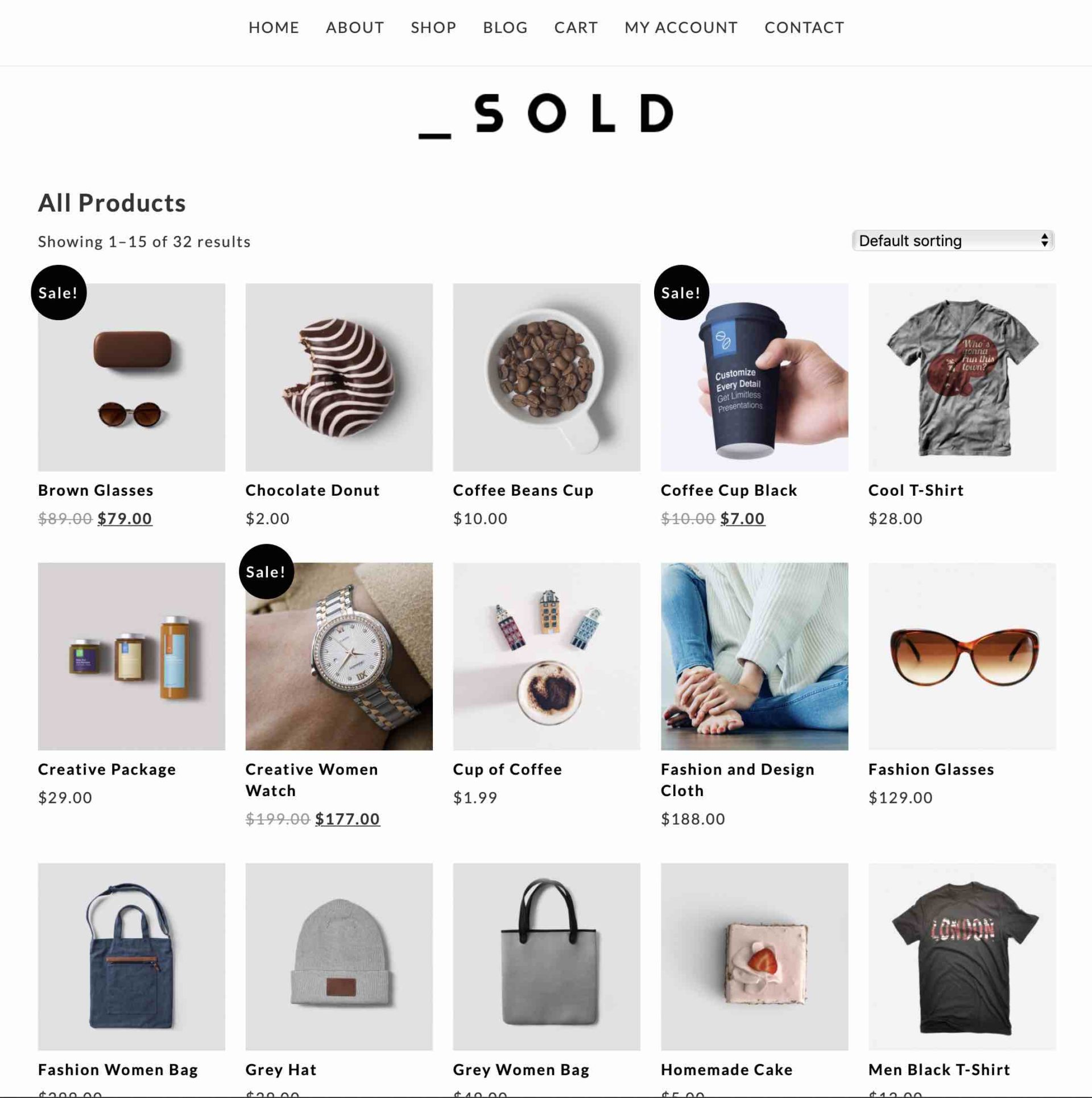Sold Theme